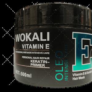 wokali fruit vitamin e salon keratin hair mask