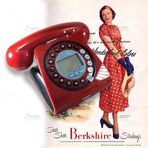 Retro Styled Landline Phone