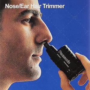 Panasonic ER115 Nose and Ear Hair Trimmer Wet/Dry