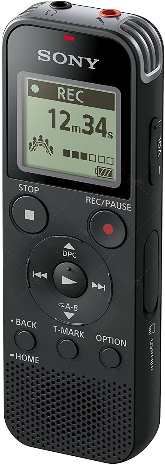 sony icd-px470 digital voice recorder with built-in usb 2