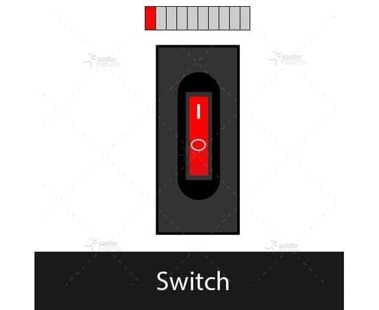 clopal tabletop popup socket bs-105/bk switch 1