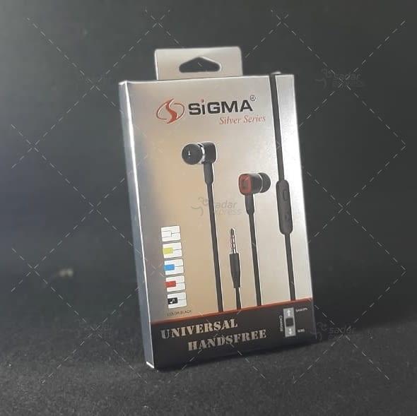 sigma universal silver series stereo bass handfree 1