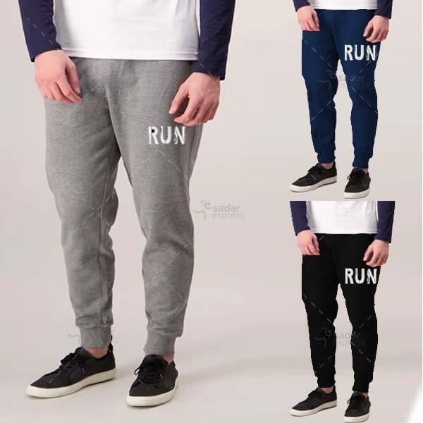 pack of 3 hawk jogging trouser winter fabric fleece free size 1