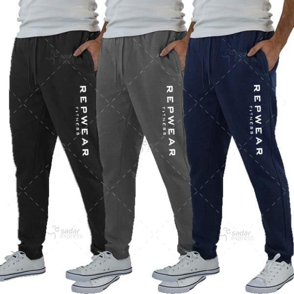 pack of 3 reapwear jogging sweat trouser winter fabric fleece 1