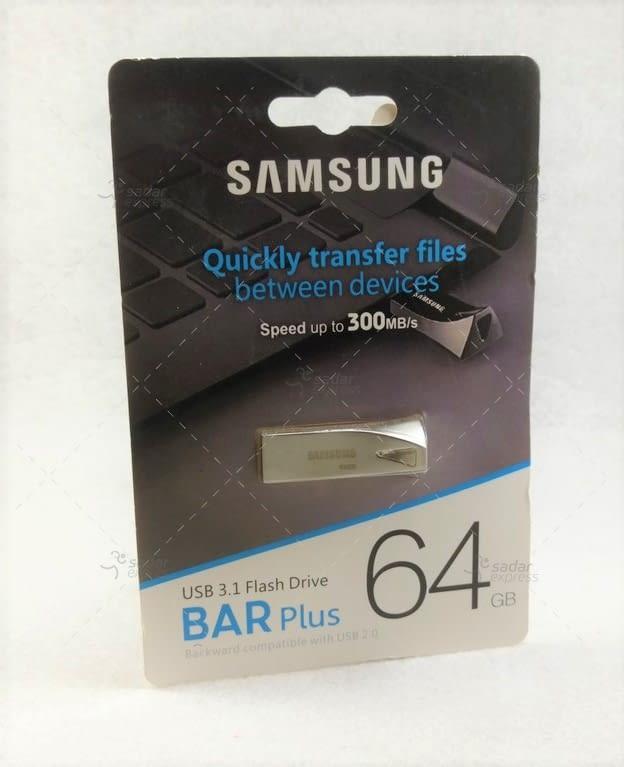 samsung flash drive barplus 16gb 64gb 300 mbps ultra fast 3.0 1