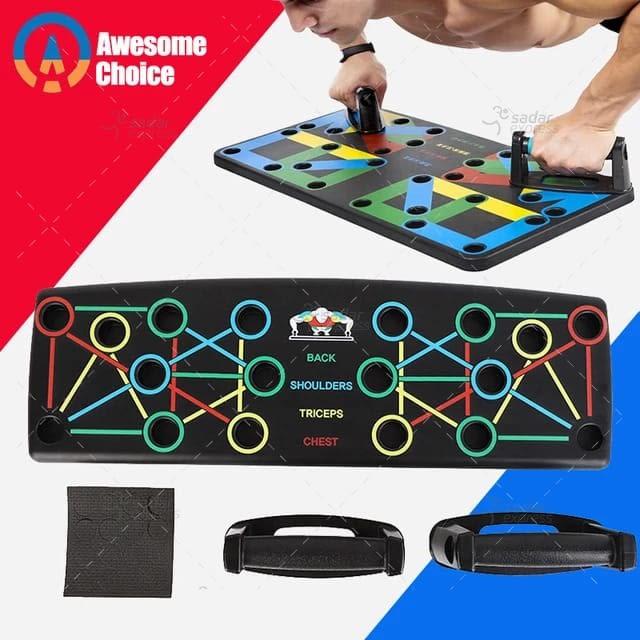 foldable adjustable pushup board 1