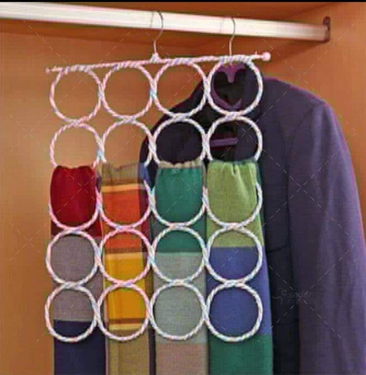 scarf hanger 20 holes 2