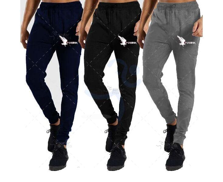 pack of 3 hawk jogging sweat trouser winter fabric fleece 1