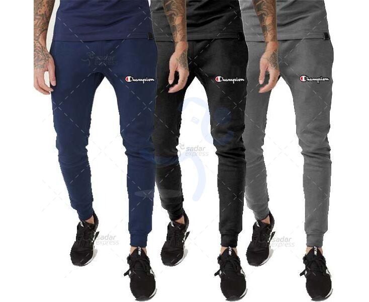 pack of 3 champion jogging sweat trouser winter fabric fleece 1