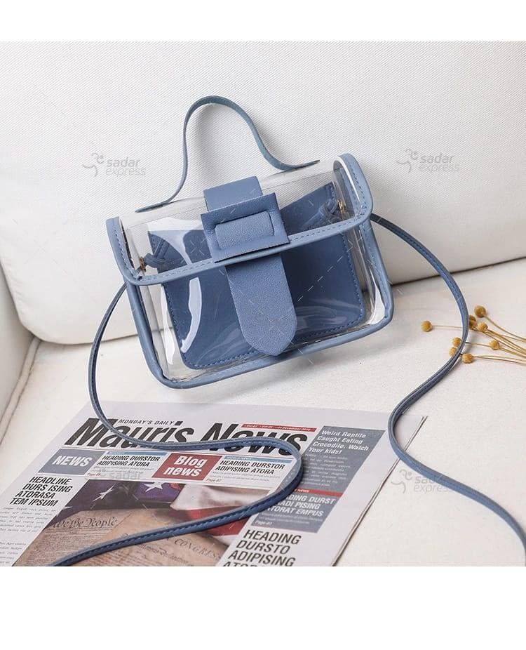 jelly handbag for women 2 in 1 2
