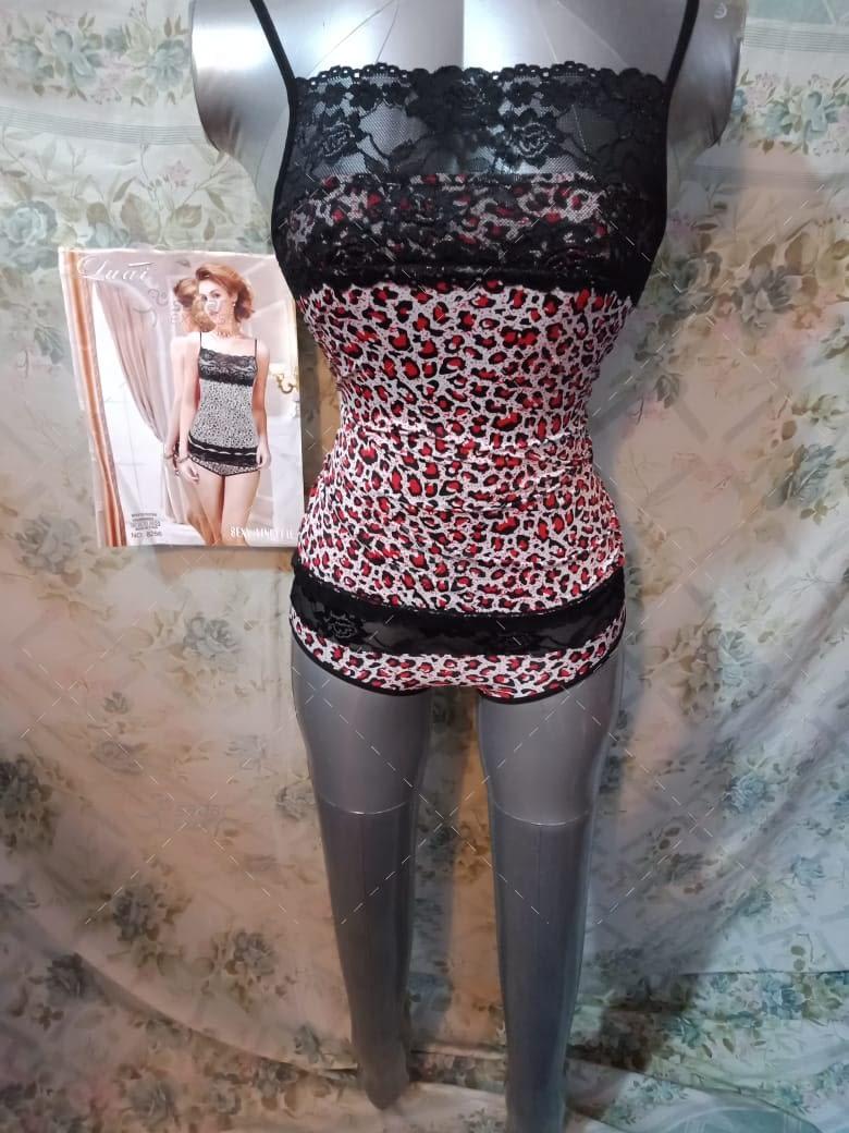 tiger print night suit for women honeymoon nighty