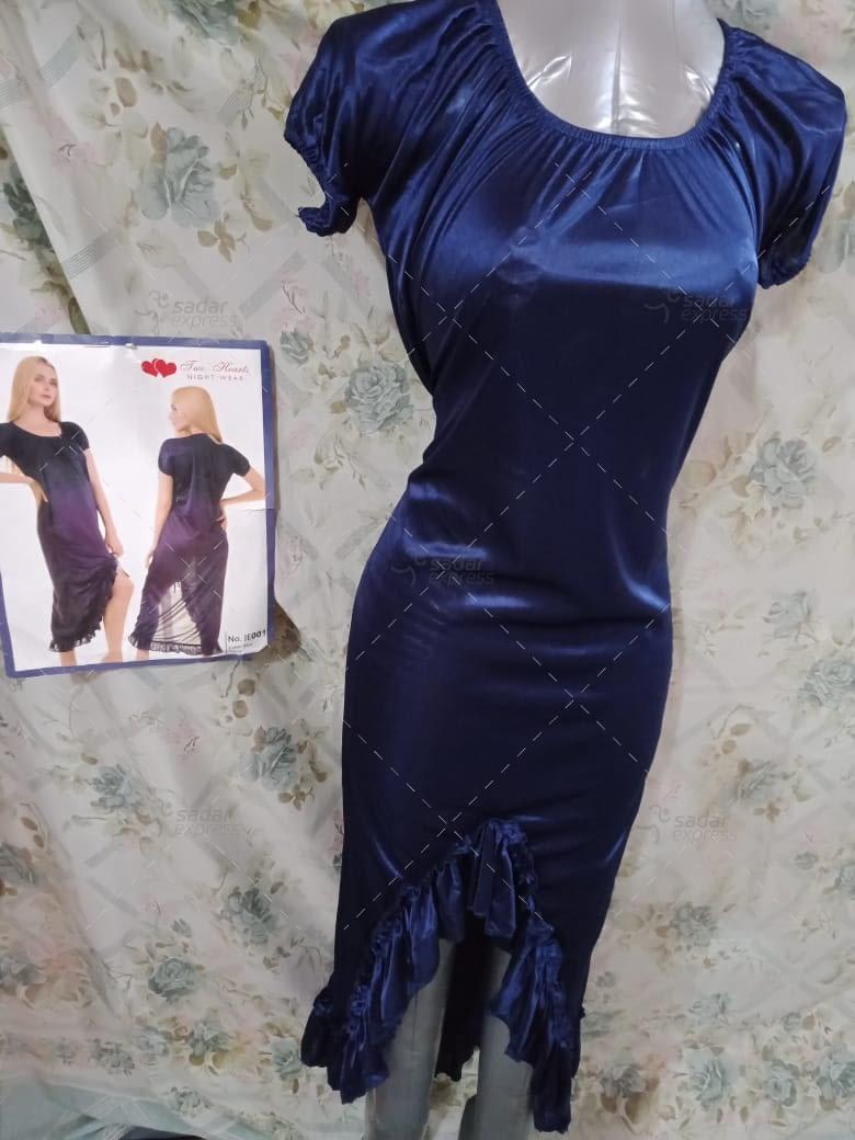 two hearts 1 piece silk nightwear for girls & women je001 1