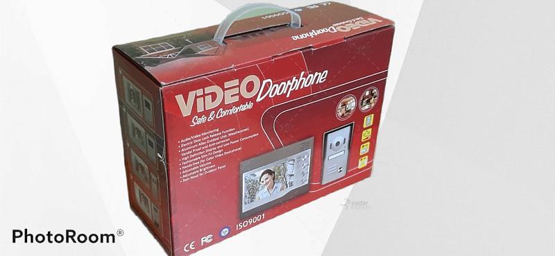 video door phone touch screen 7 inch home security 5