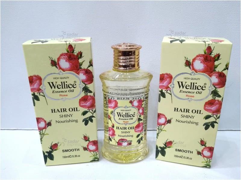 wellice rose hair oil ` 1