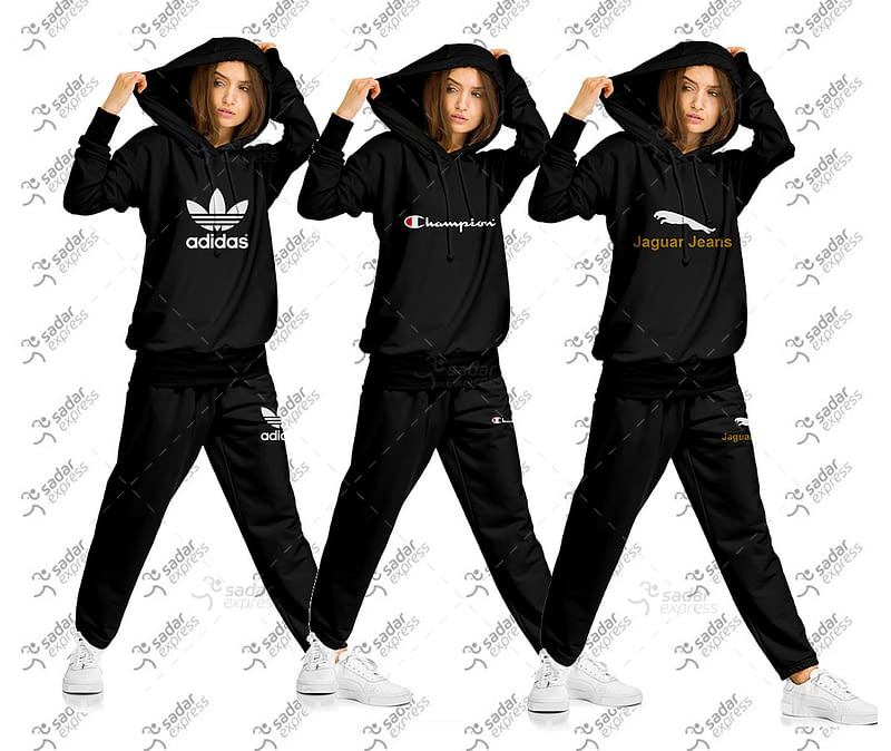 girls track suit fleece fabric for winter collection jogging tracking 1