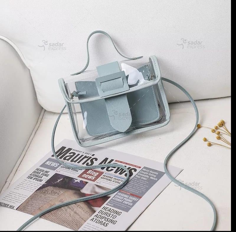 jelly handbag for women 2 in 1 6