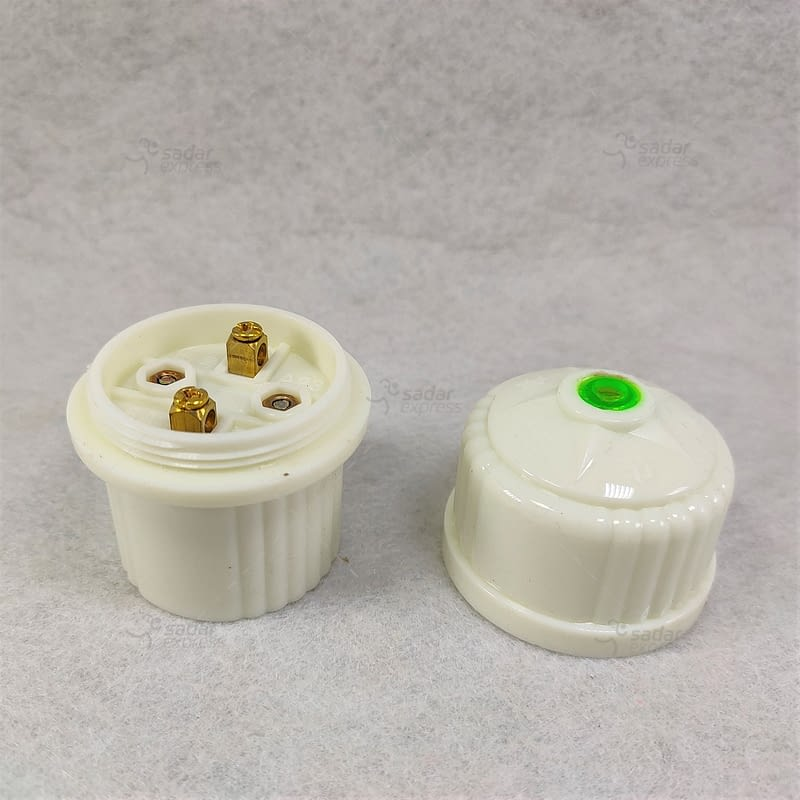 ceramic bulb holder, packaging type: packet 1