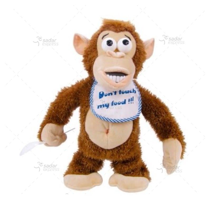 crying monkey electronic stuffed toy 1