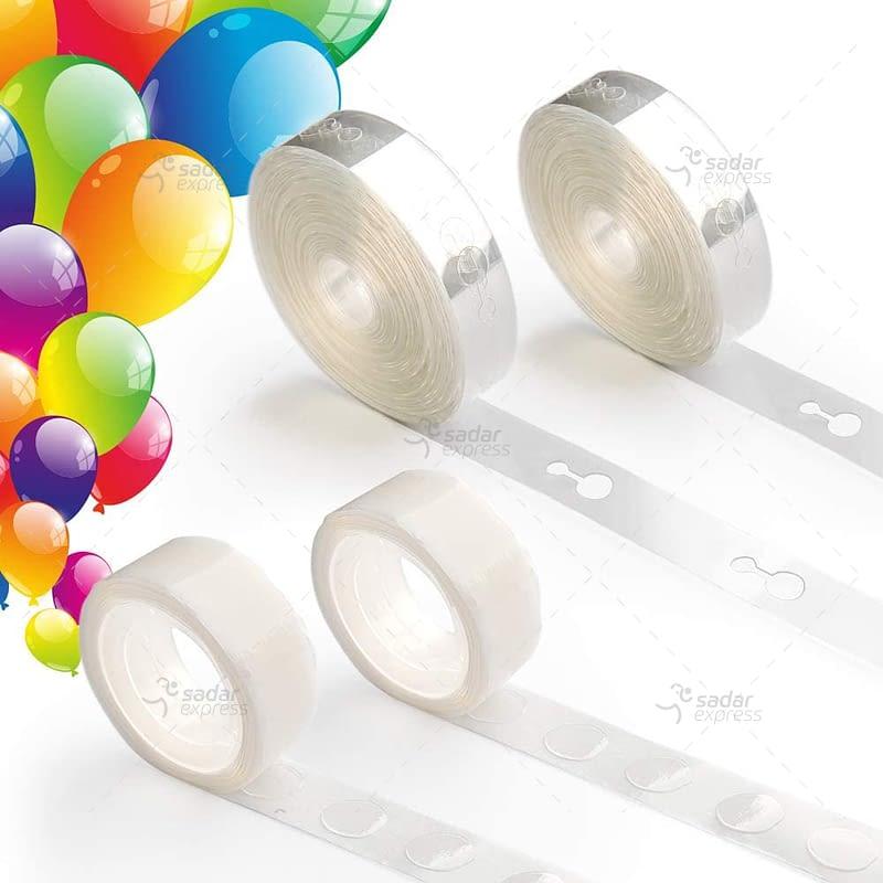 balloon decorating strip connect chain diy balloon arch strip tape plastic 5m 1