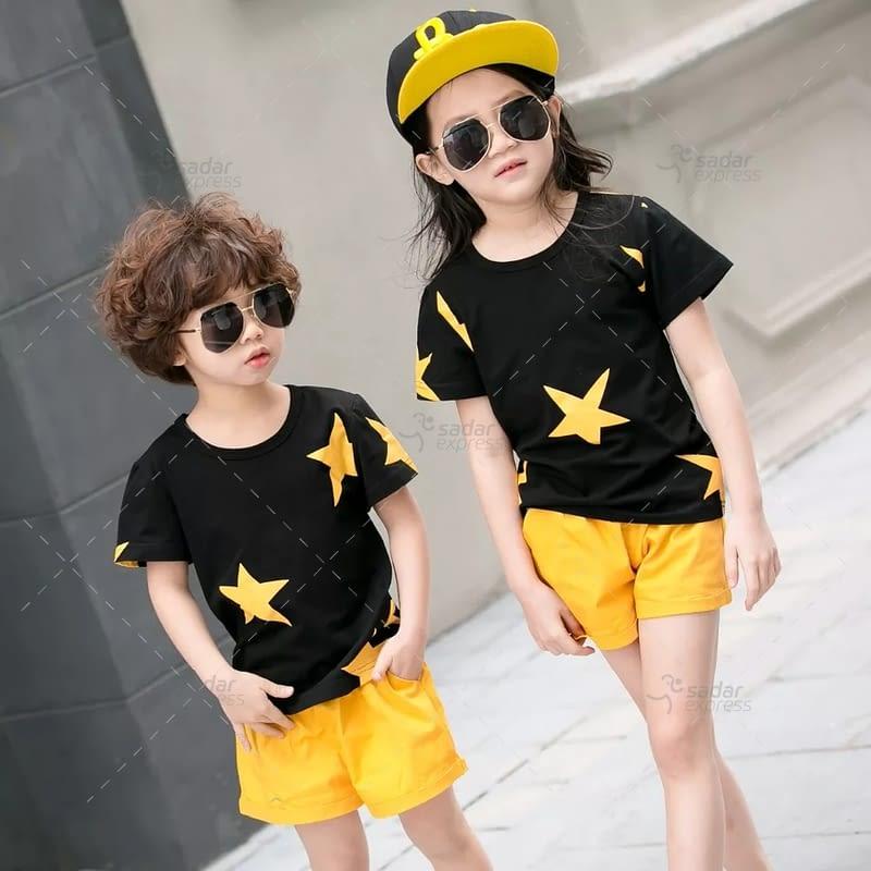 kids nightwear sleepwear soft cotton night suits for boys & girls 5