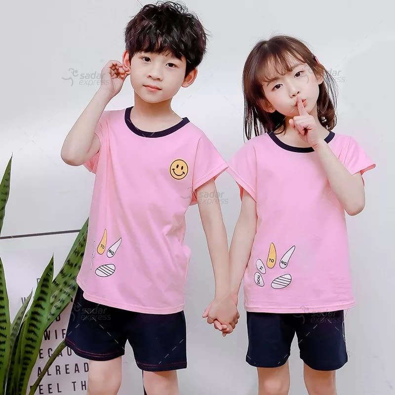 kids nightwear sleepwear soft cotton night suits for boys & girls 3