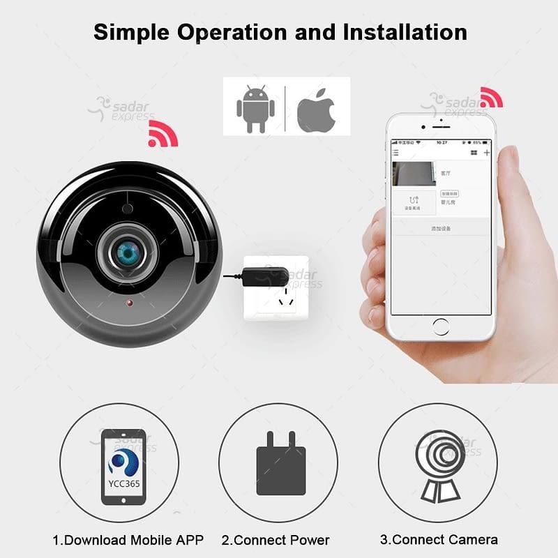 v380 hd 720p mini ip camera wifi camera wireless p2p security surveillance camera night vision 4