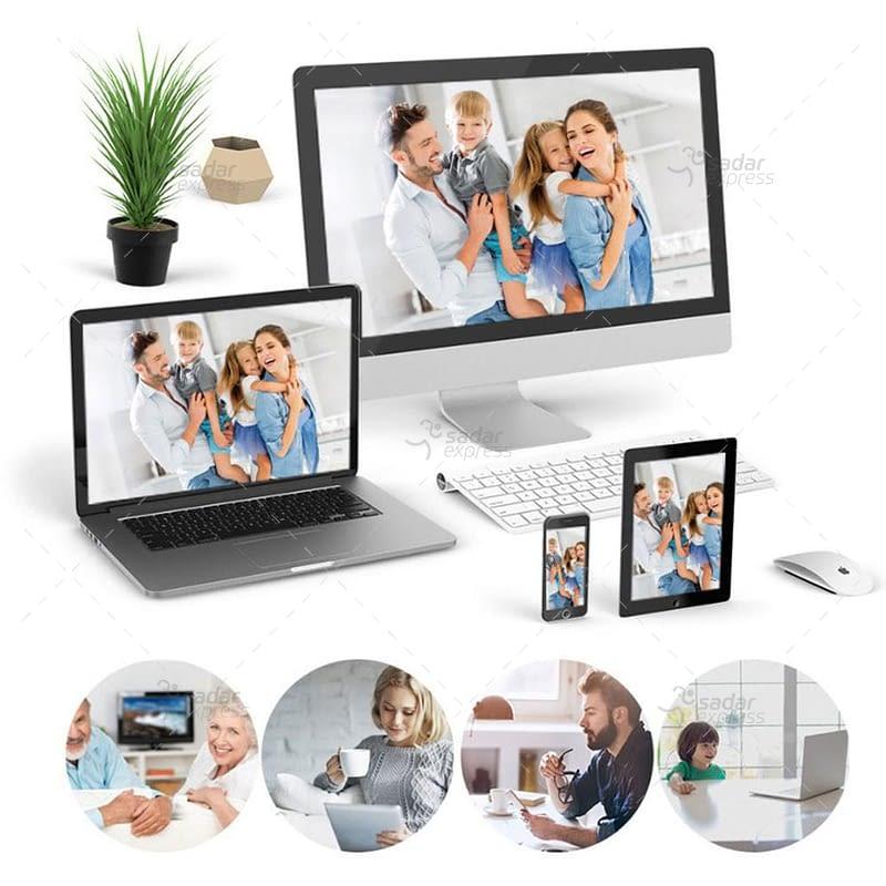 outdoor/indoor smart security camera 8 light ball machine monitoring wireless wifi camera 9