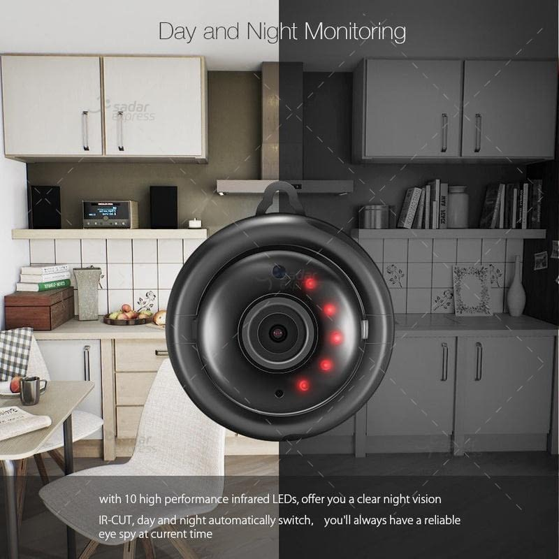 v380 hd 720p mini ip camera wifi camera wireless p2p security surveillance camera night vision 2
