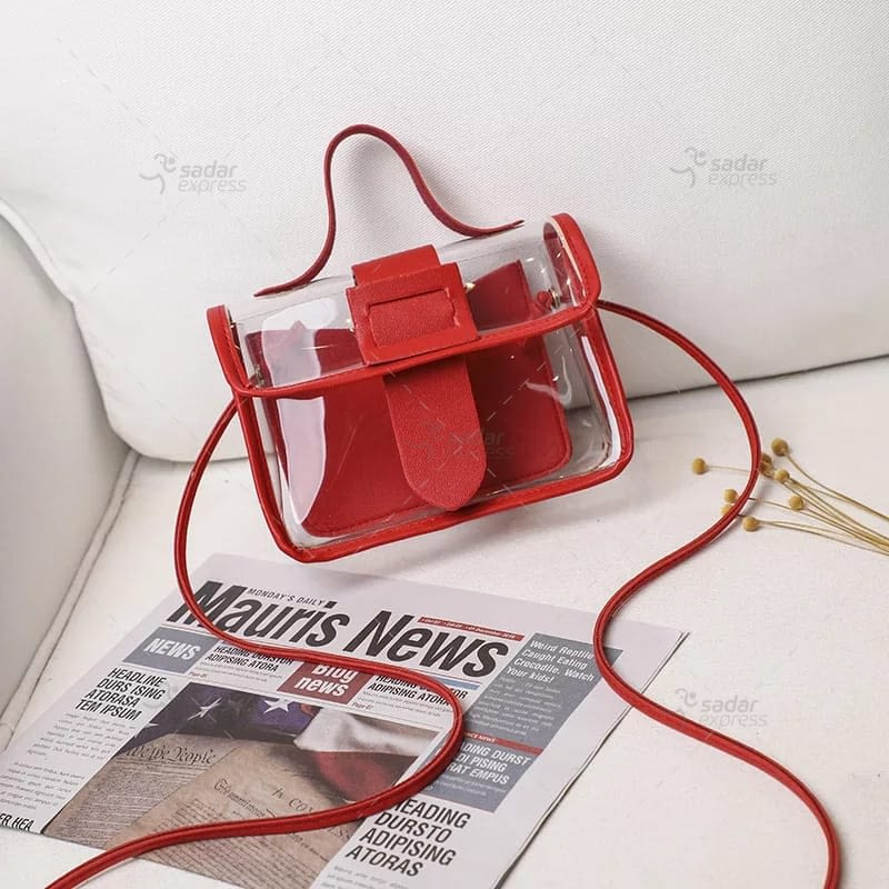 jelly handbag for women 2 in 1 4