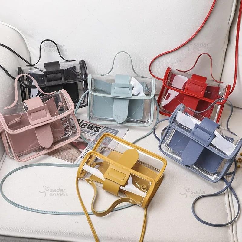 jelly handbag for women 2 in 1 1