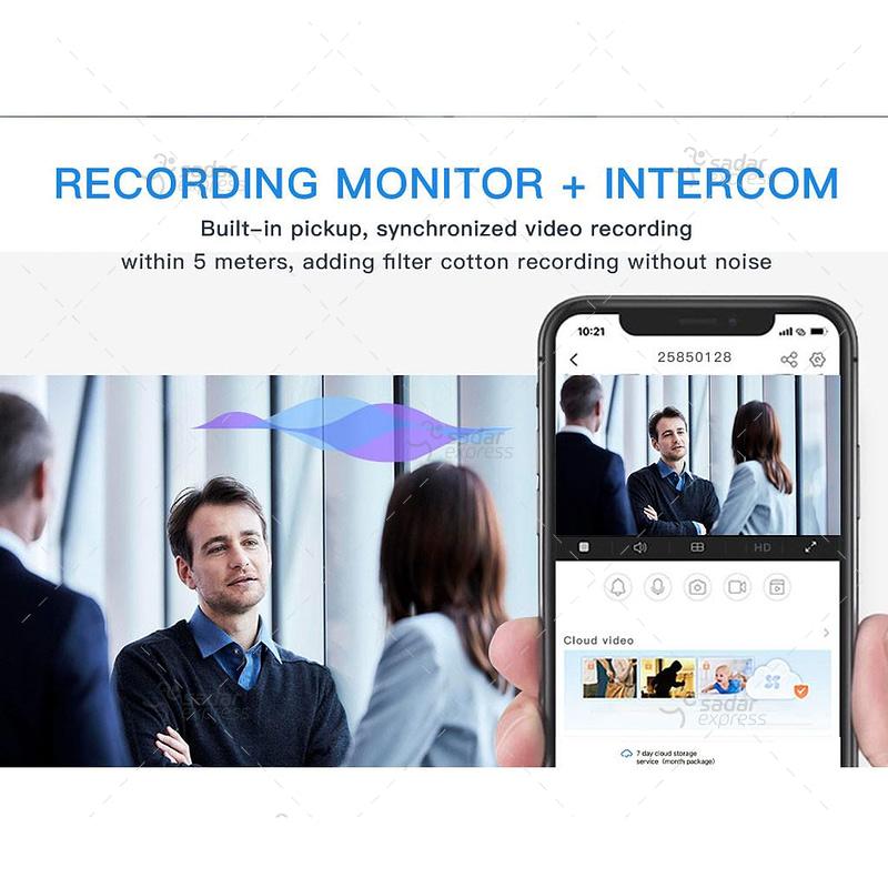 outdoor/indoor smart security camera 8 light ball machine monitoring wireless wifi camera 5