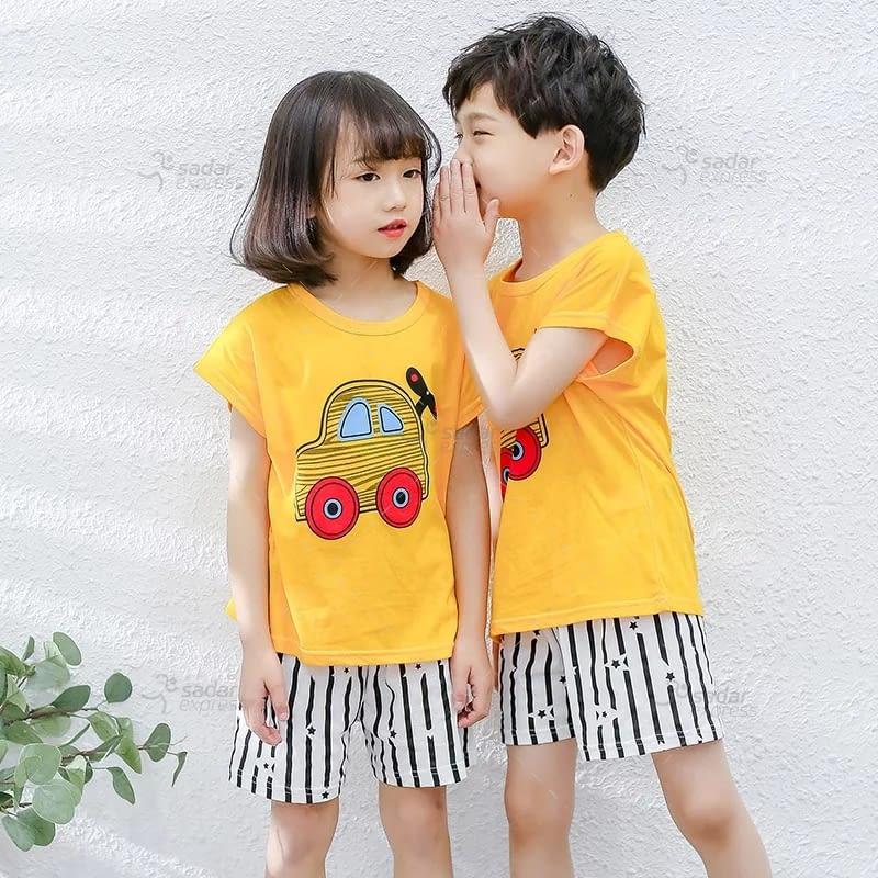 kids nightwear sleepwear soft cotton night suits for boys & girls 8