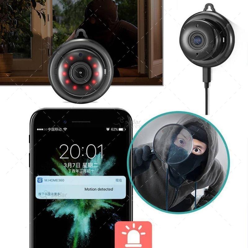 v380 hd 720p mini ip camera wifi camera wireless p2p security surveillance camera night vision 6