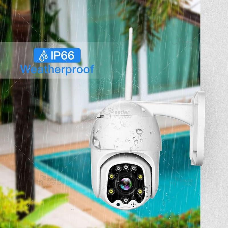 outdoor/indoor smart security camera 8 light ball machine monitoring wireless wifi camera 3