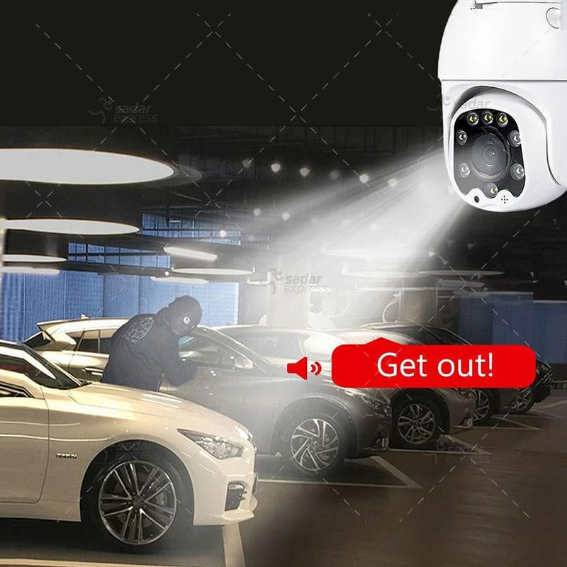 outdoor/indoor smart security camera 8 light ball machine monitoring wireless wifi camera 2