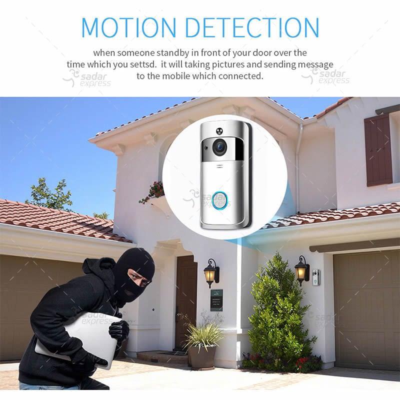 video doorbell wireless wifi smart phone camera door bell intercom ring security 4