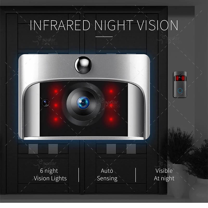 video doorbell wireless wifi smart phone camera door bell intercom ring security 3
