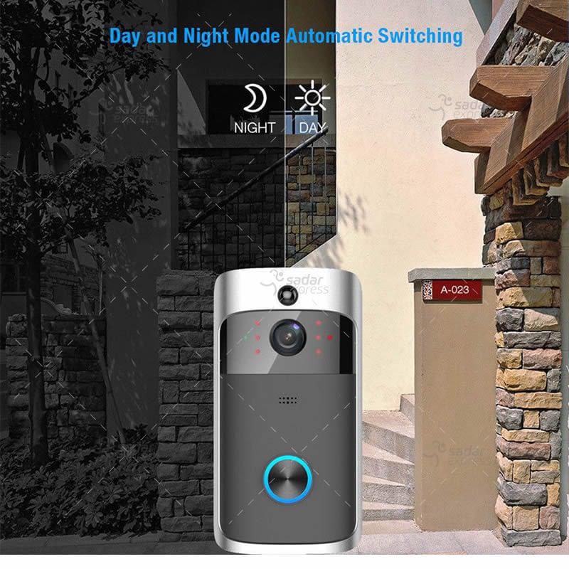 video doorbell wireless wifi smart phone camera door bell intercom ring security 7