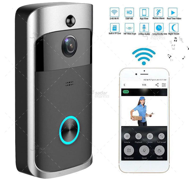 video doorbell wireless wifi smart phone camera door bell intercom ring security 5
