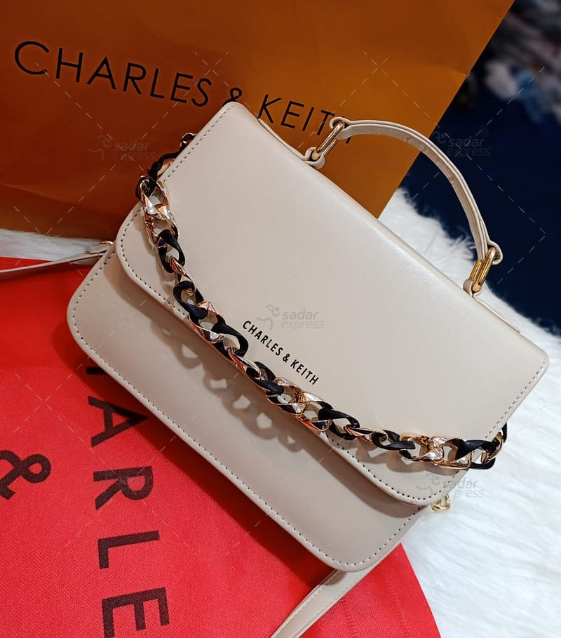beautiful leather cross body with long chain purse with brand bag 144826 1