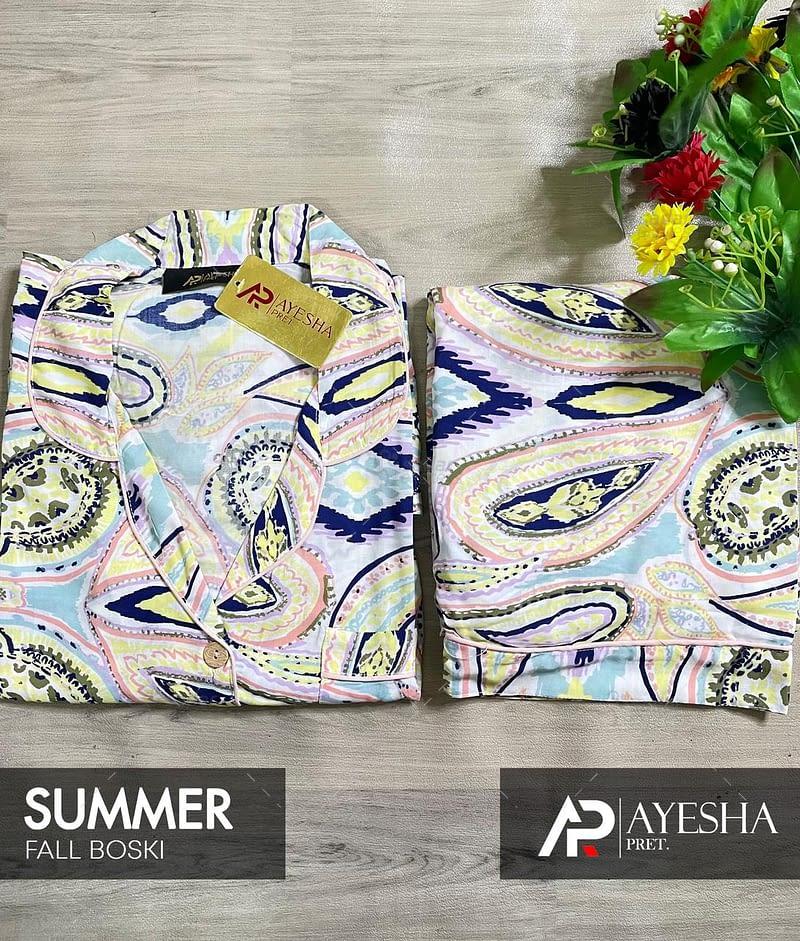 cotton printed boski nightwear summer 2021 collection 5