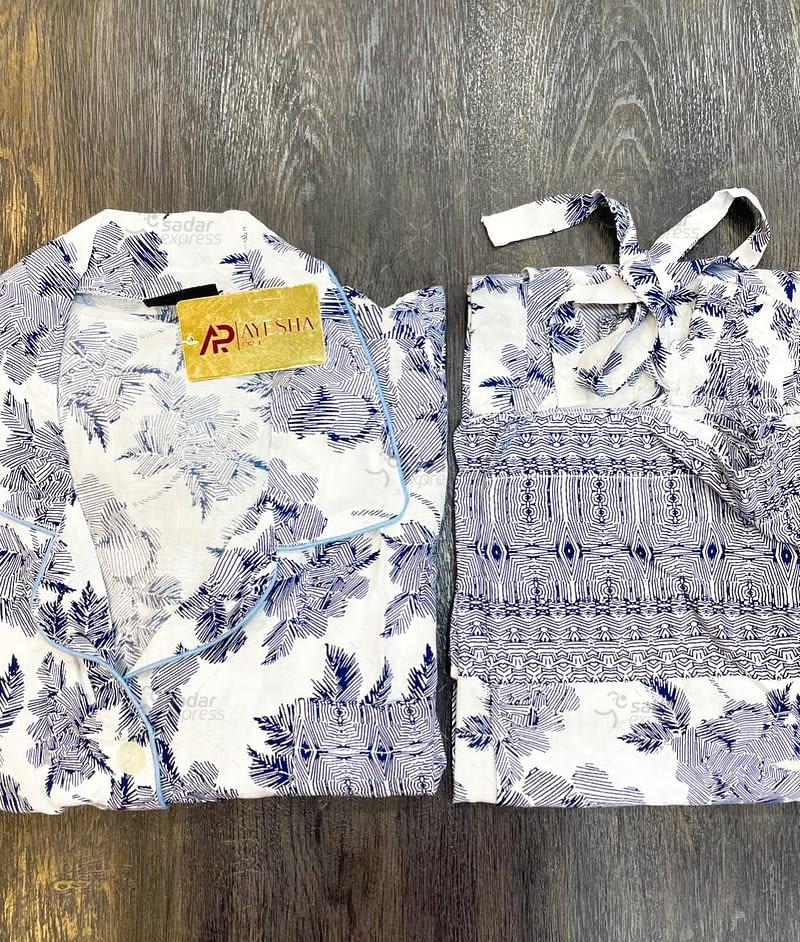 cotton printed boski nightwear summer 2021 collection 4