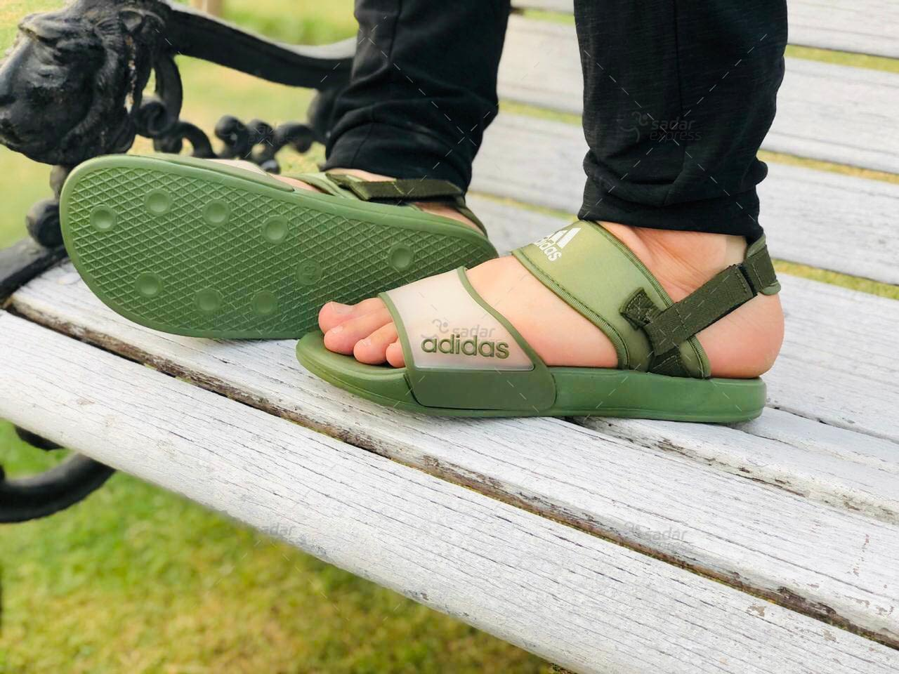 sports silicon rubber sandal for men 5