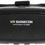 VR SHINECON 3D VR Headset Virtual Reality Glasses - 3d Vr Goggles Headsets for Video Movies&Games Compatible with iPhone and Android Smartphone