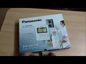 Panasonic VL-SW251SX Wireless Video Home Security System photo review
