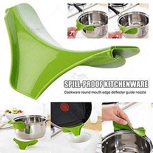 Creative Kitchen Tools Liquid Silicone Funnel