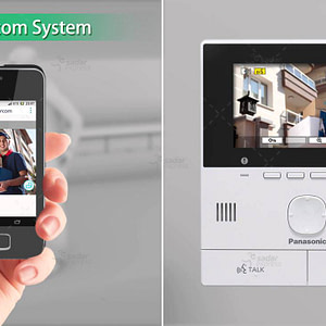 Panasonic VL-SVN511BX Video Intercom System