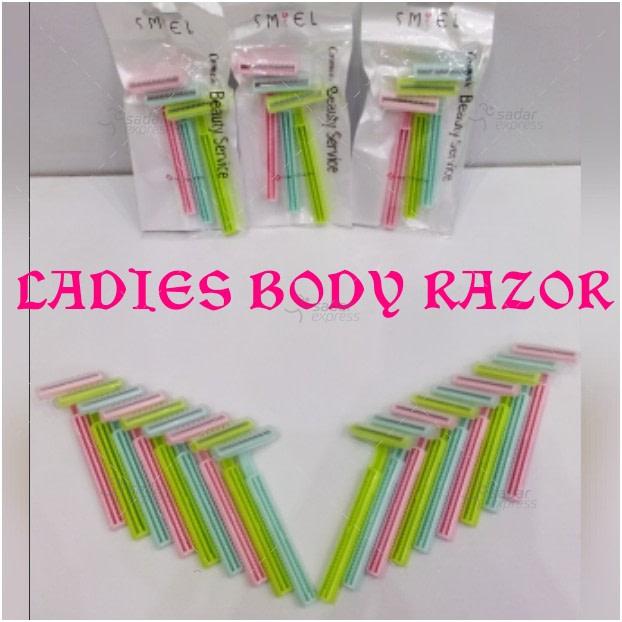 Pack of 6 Ladies Body Razor Best quality product