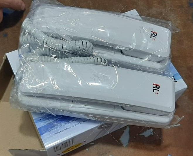 Dedicated two-way intercom telephone RL-209 AC- wired doorbell cards