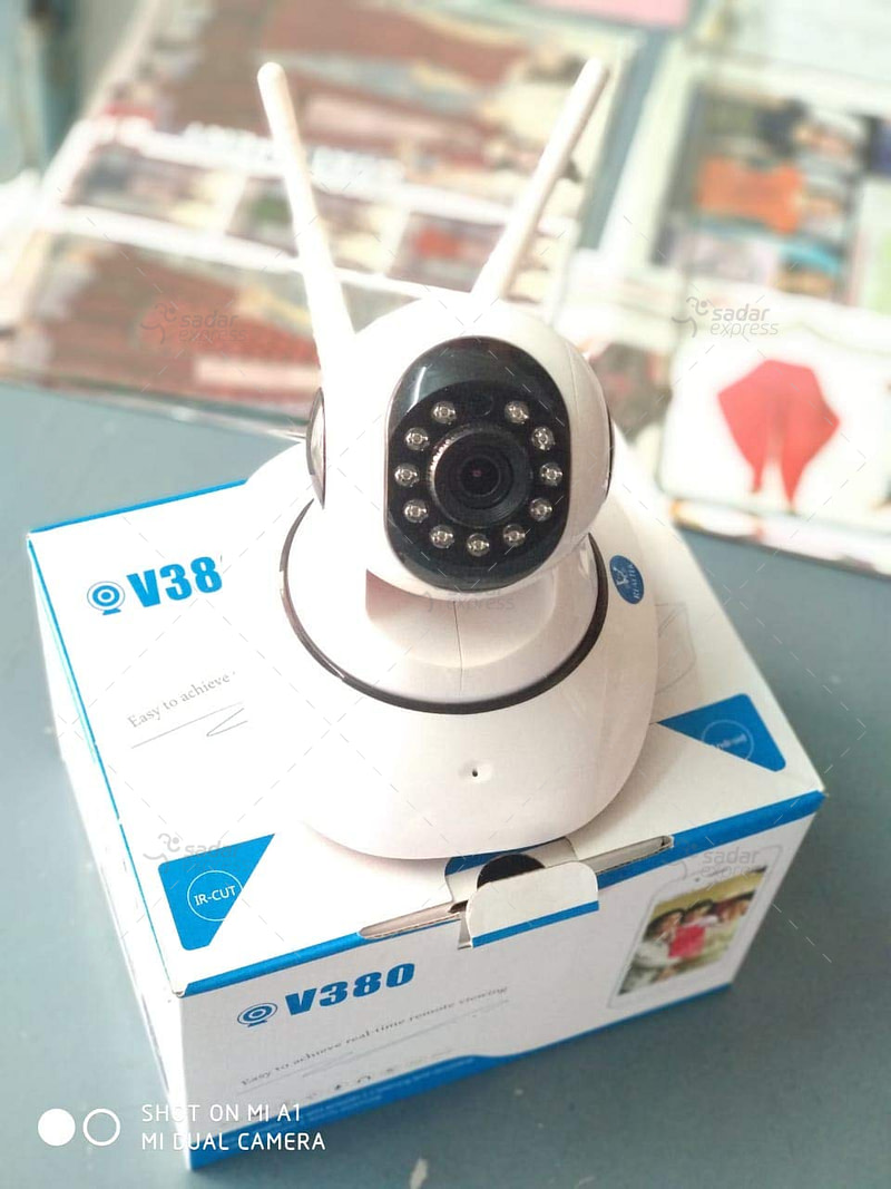Wifi Smart CCTV Camera Motion Detector HD Video